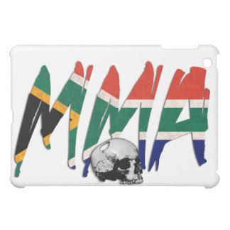 South Africa MMA Skull White iPad Case