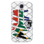 South Africa MMA Skull White iPhone 3G/3GS Case Samsung Galaxy S4 Covers