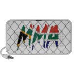 South Africa MMA white doodle speaker