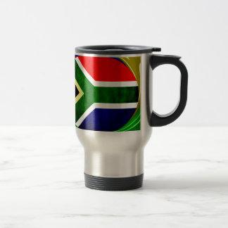 South Africa 15 Oz Stainless Steel Travel Mug