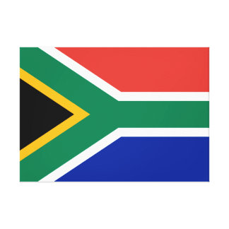 South Africa National World Flag Canvas Print