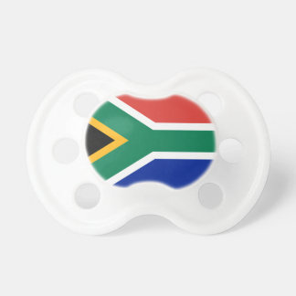 South Africa National World Flag Pacifier