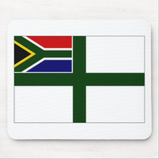 South Africa Naval Ensign Mouse Pad