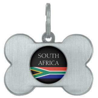 South Africa Pet ID Tag