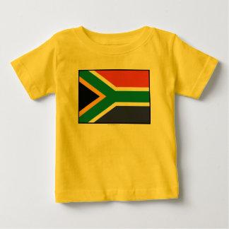 South Africa Plain Flag Baby T-Shirt