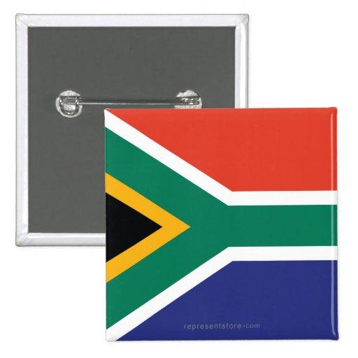 South Africa Plain Flag Pins