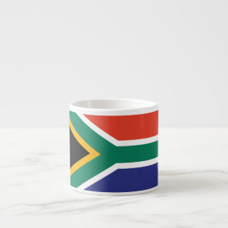 South Africa Plain Flag Espresso Cup