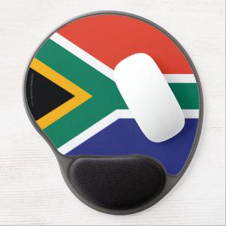 South Africa Plain Flag Gel Mouse Mats
