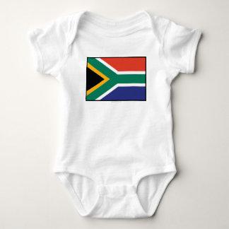 South Africa Plain Flag Shirt