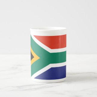 South Africa Plain Flag Tea Cup