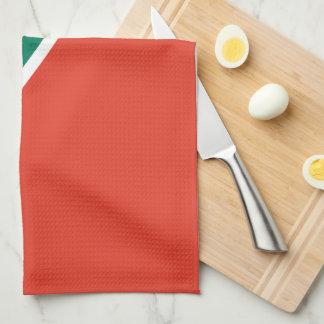 South Africa Plain Flag Towel