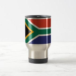 South Africa Plain Flag Travel Mug