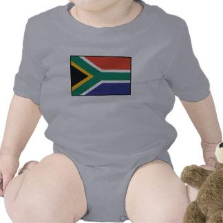 South Africa Plain Flag Tee Shirts