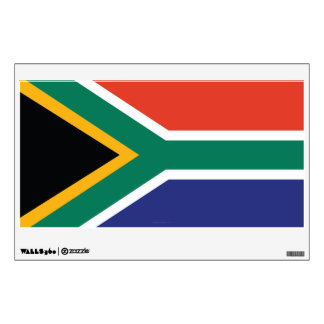 South Africa Plain Flag Wall Decal