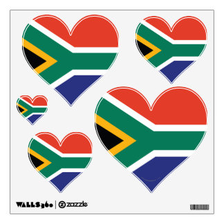 South Africa Plain Flag Wall Sticker