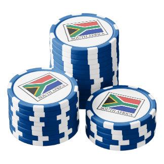 South Africa Poker Chip Set