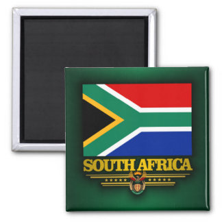 South Africa Pride 2 Inch Square Magnet