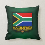 South Africa Pride Throw Pillows