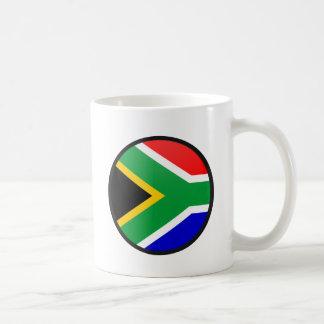 South Africa quality Flag Circle Coffee Mug