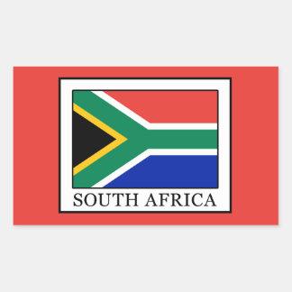 South Africa Rectangular Sticker
