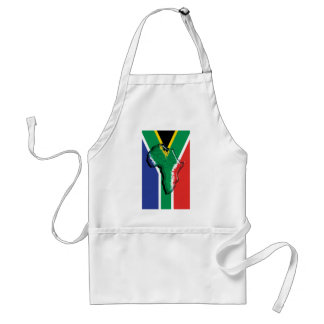 South Africa RSA African flag Apron