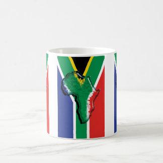 South Africa RSA African flag Mugs