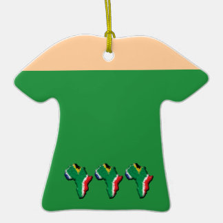 South Africa RSA African flag ornaments