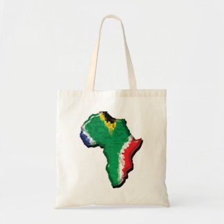 South Africa RSA African flag promotional Tote Bags