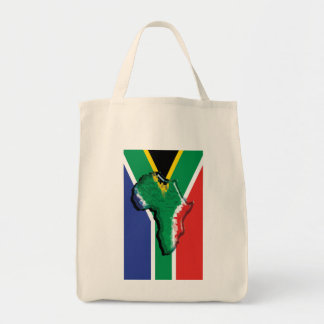 South Africa RSA African flag Tote Bag