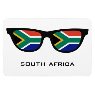 South Africa Shades custom text & color magnet