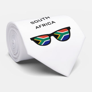 South Africa Shades custom text & color tie