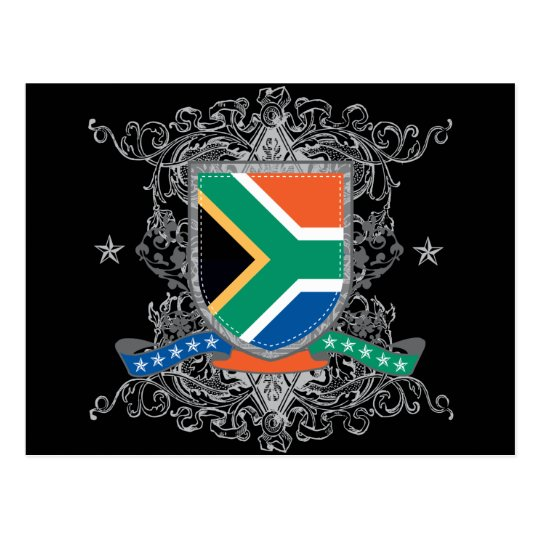 South Africa Shield Postcard