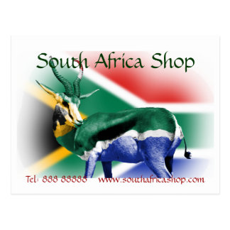 South Africa Shop matching Business Postcards