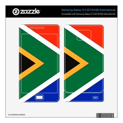 South Africa Samsung Galaxy S II Skin