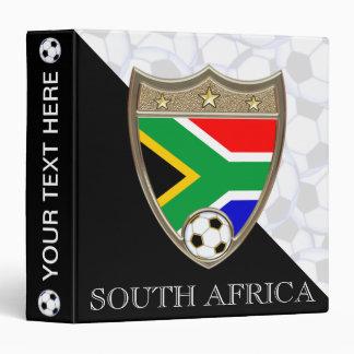 """South Africa Soccer 1.5"""" Binder"""