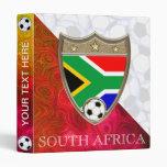 """South Africa Soccer 1"""" Binder"""