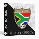 "South Africa Soccer 1"" Vinyl Binder"