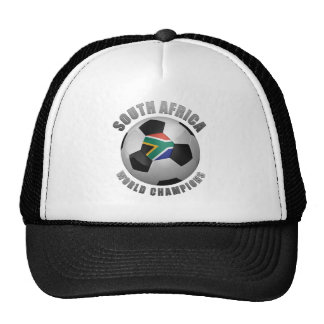 SOUTH AFRICA SOCCER CHAMPIONS TRUCKER HATS