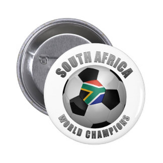 SOUTH AFRICA SOCCER CHAMPIONS PINBACK BUTTONS