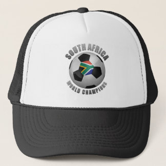 SOUTH AFRICA SOCCER CHAMPIONS TRUCKER HAT