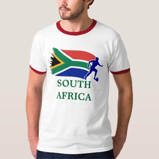 South Africa  Soccer Flag T-Shirt