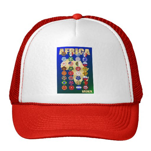 South Africa Soccer Groups A to H 32 Teams Trucker Hat