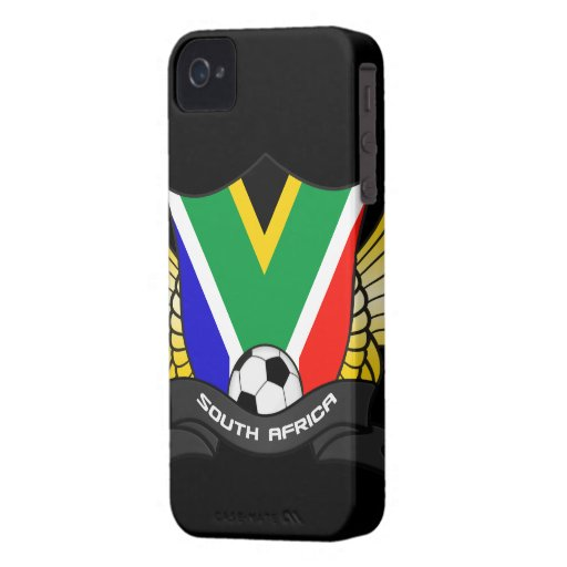 South Africa Soccer iPhone 4/4S Case-Mate B.T. Case-Mate iPhone 4 Cases