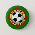 SOUTH AFRICA SOCCER PINBACK BUTTON