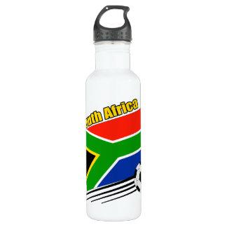 South Africa Soccer Team 24oz Water Bottle