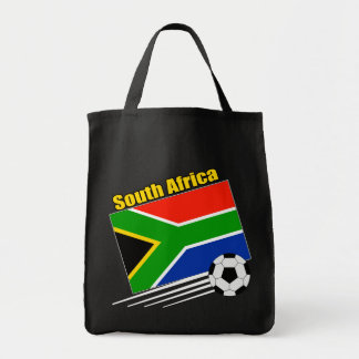 South Africa Soccer Team Grocery Tote Bag