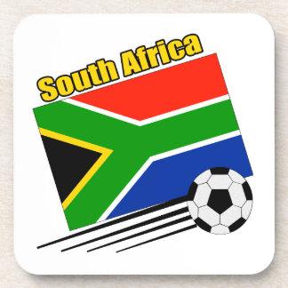 South Africa Soccer Team Drink Coaster