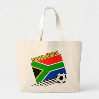 South Africa Soccer Team Jumbo Tote Bag