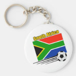South Africa Soccer Team Key Chains