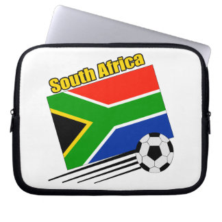 South Africa Soccer Team Laptop Sleeves
